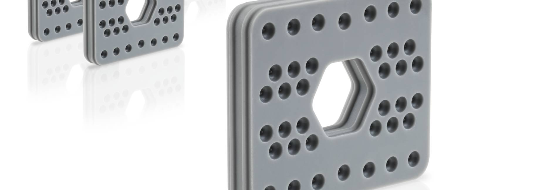 Solid silicones: New material feeding unit