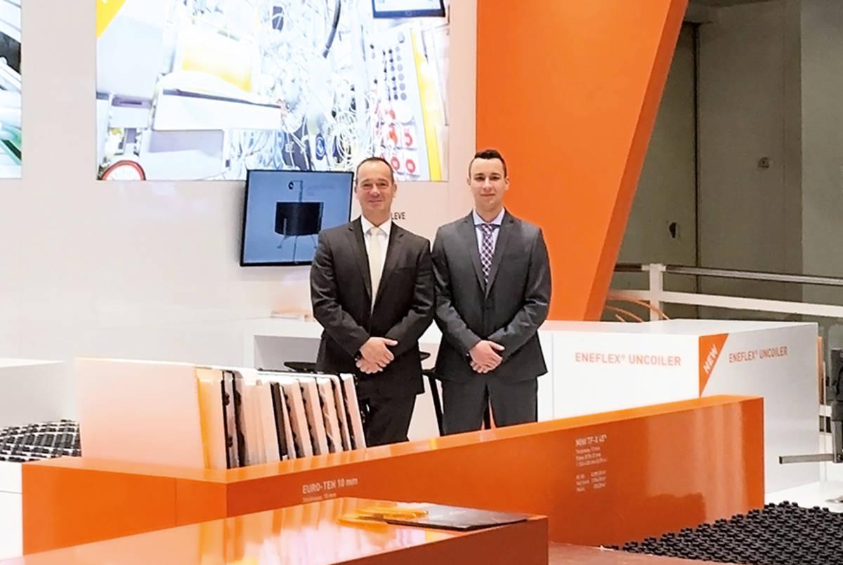 Management duo at  ENETEC Plastics