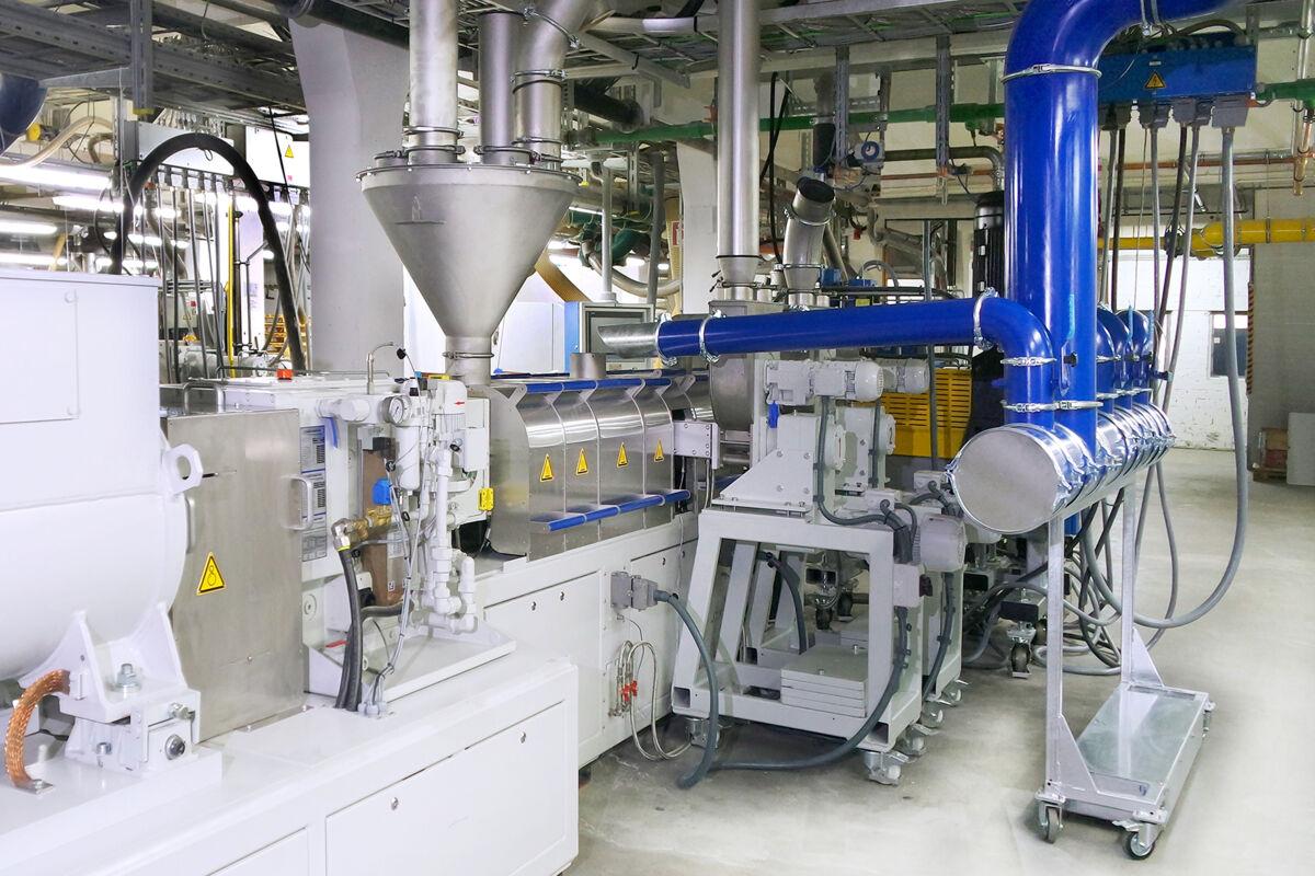 Zweischneckenextruder ZE BluePower