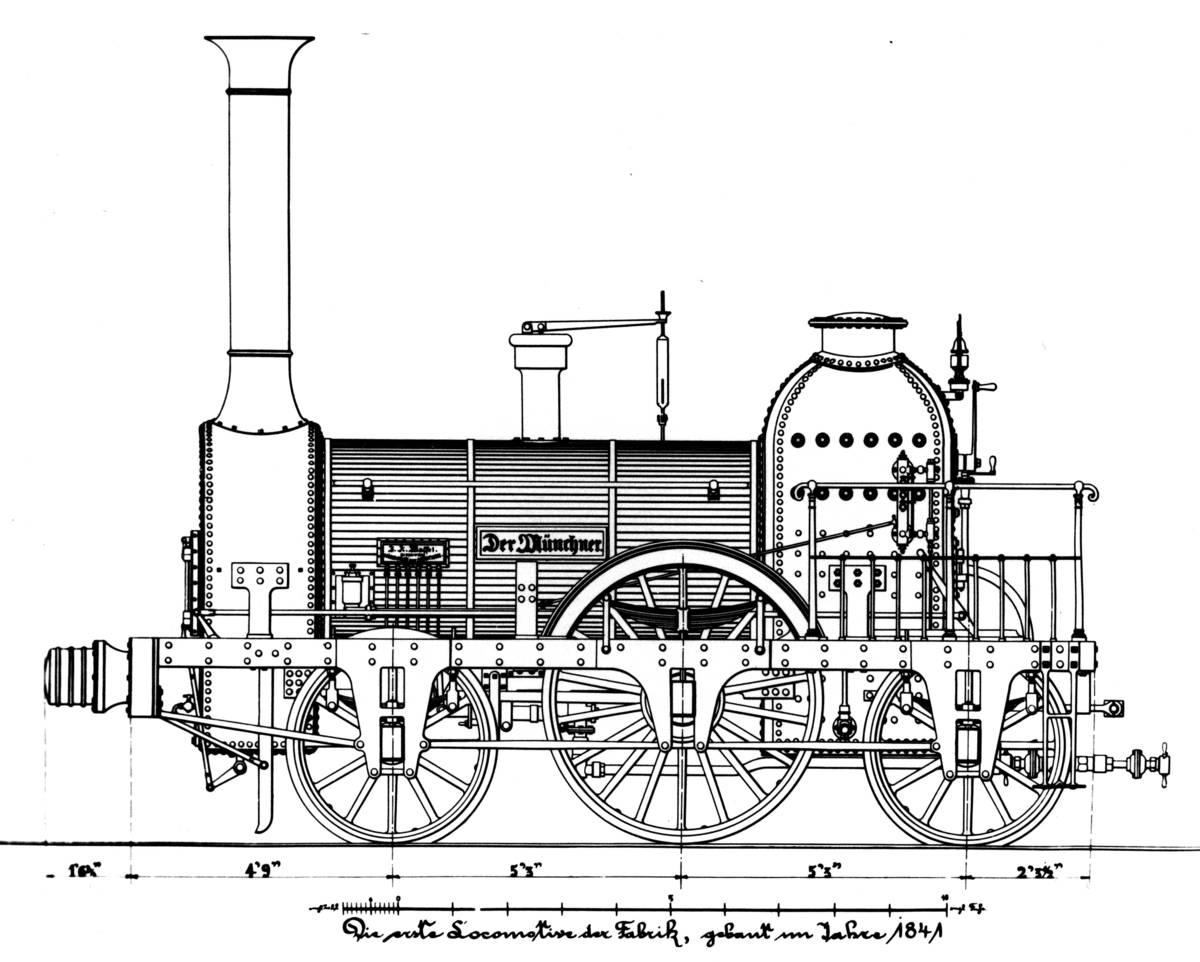 """Locomotive """"Der Münchner"""""""