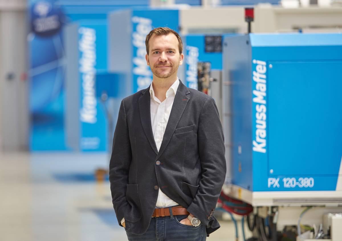 Dr. Stefan Kruppa, Head of Machine Technology at KraussMaffei,