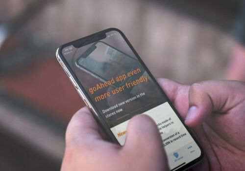goAhead-App noch userfreundlicher