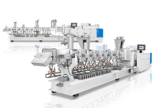 Four new high-performance ZE BluePower compounding extruders for maximum output rates