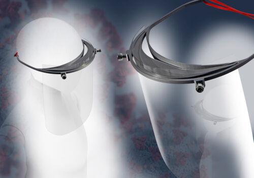 KraussMaffei produziert Teile für Gesichtsschutzmasken