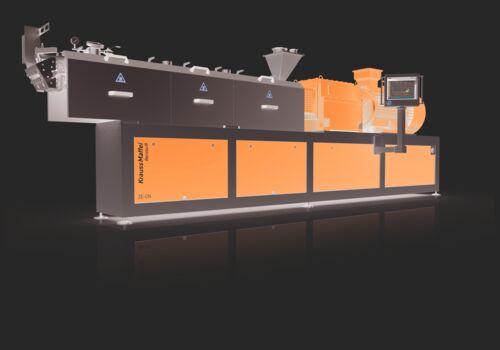 Neue Generation Zweischneckenextruder ZE-CN