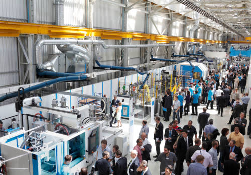 A brilliant exhibition of injection molding technology